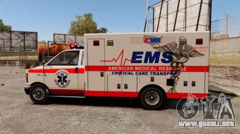 Brute Ambulance v2.1-SH para GTA 4 left