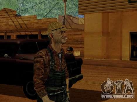 Agricultor o modificado y complementado para GTA San Andreas octavo de pantalla