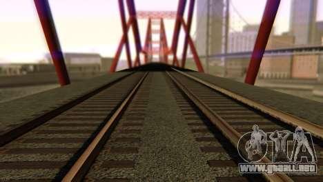 SA_extend. v1.1 para GTA San Andreas twelth pantalla