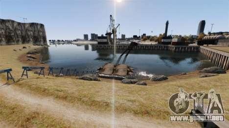 Sofisticado pista para GTA 4 segundos de pantalla