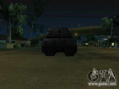 PzKpfw VII Maus para la visión correcta GTA San Andreas
