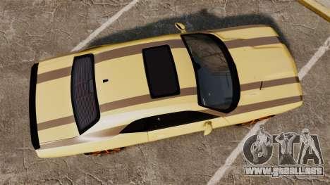 Dodge Challenger SRT8 2009 [EPM] APB Reloaded para GTA 4 visión correcta