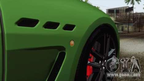 Maserati GranTurismo MC Stradale para GTA San Andreas interior