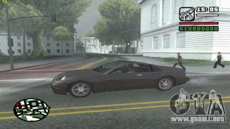 Weather Menu para GTA San Andreas sexta pantalla
