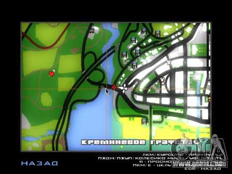 Customs Los Santos, San Fierro para GTA San Andreas octavo de pantalla