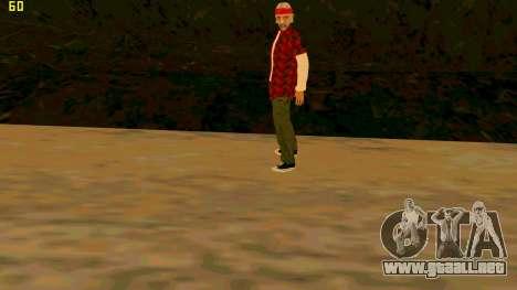La nueva textura de la Verdad para GTA San Andreas tercera pantalla
