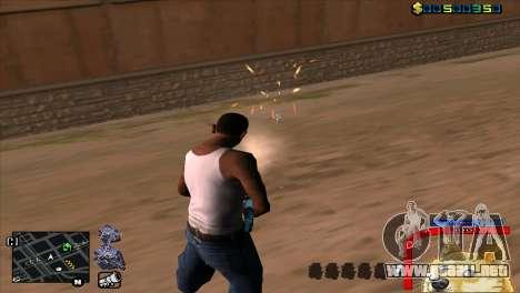 C-HUD Perro WOW para GTA San Andreas sucesivamente de pantalla