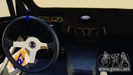 Ford Fiesta 2013 para GTA 4 vista interior