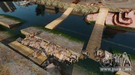 La pista de pruebas Extremas- para GTA 4 adelante de pantalla
