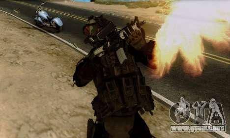 Kopassus Skin 2 para GTA San Andreas tercera pantalla