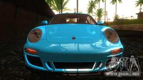 Porsche 911 Carrera GTS 2011 para visión interna GTA San Andreas