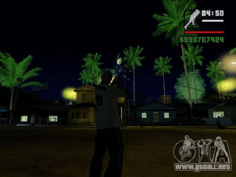 Defensor v.2 para GTA San Andreas octavo de pantalla