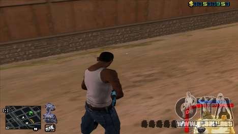 C-HUD Perro WOW para GTA San Andreas segunda pantalla