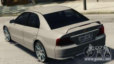 Mitsubishi Galant8 VR-4 para GTA 4 left