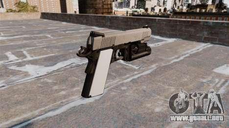 Pistola semiautomática Kimber para GTA 4 segundos de pantalla