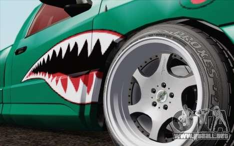 Dodge Ram SRT10 Shark para GTA San Andreas vista posterior izquierda