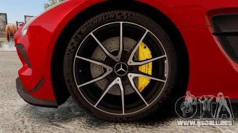 Mercedes-Benz SLS 2014 AMG GT Final Edition para GTA 4 vista hacia atrás