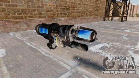 La congelación de armas para GTA 4