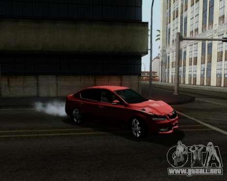 Skoda Octavia A7 para las ruedas de GTA San Andreas