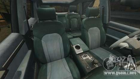 Audi Q7 Hungarian Police [ELS] para GTA 4 vista lateral