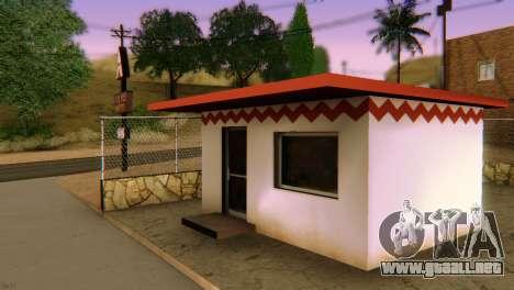 SA_extend. v1.1 para GTA San Andreas sexta pantalla