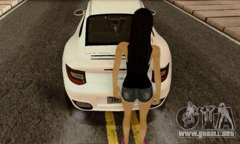 Jack Daniels Girl Skin para GTA San Andreas tercera pantalla