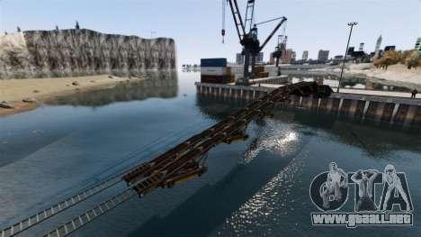 Sofisticado pista para GTA 4 tercera pantalla