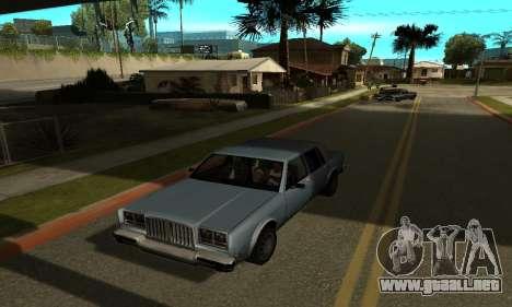 Sombras en el estilo de RAGE para GTA San Andreas