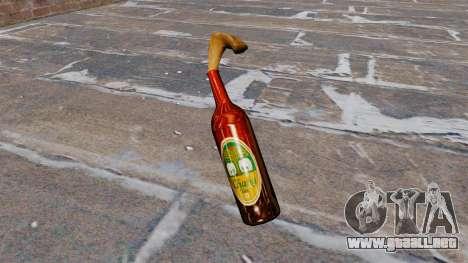 El Cóctel Molotov-Cerveza Chang- para GTA 4 segundos de pantalla