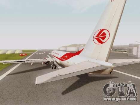 Boeing 737-800 Air Algerie para la visión correcta GTA San Andreas