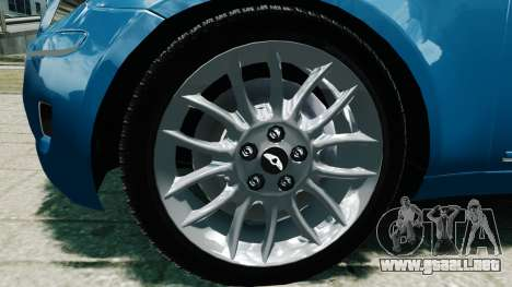 Hyundai Genesis V6 Sedan para GTA 4 visión correcta