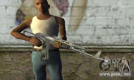 AK47 из S.T.A.L.K.E.R. para GTA San Andreas tercera pantalla