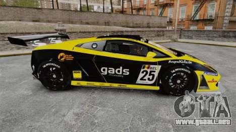 Lamborghini Gallardo LP560-4 GT3 2010 Gads para GTA 4 left