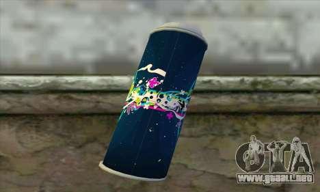 Spray para GTA San Andreas segunda pantalla