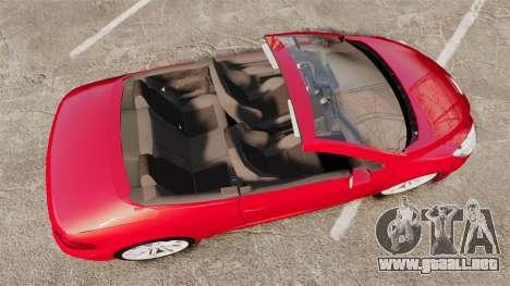 Peugeot 308 CC para GTA 4 visión correcta