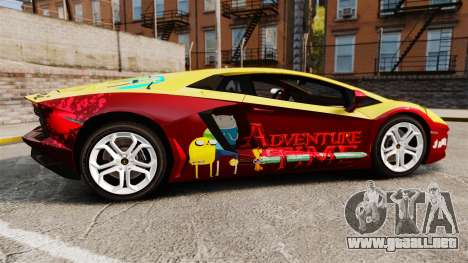 Lamborghini Aventador LP700-4 2012 [EPM] Jake para GTA 4 left