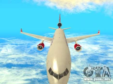 McDonnell Douglas MD-11 para visión interna GTA San Andreas