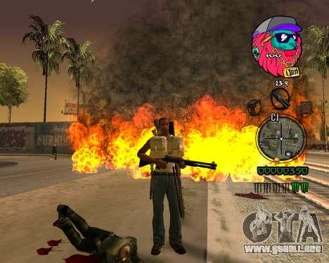 C-HUD Lion para GTA San Andreas tercera pantalla