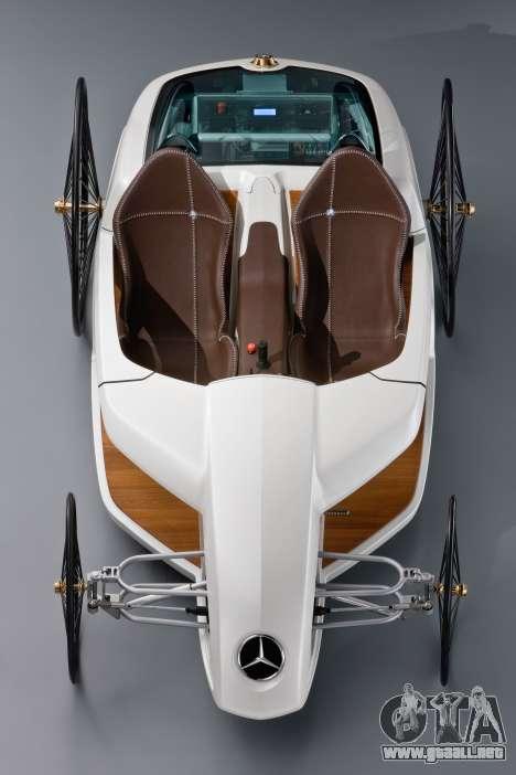 Inicio pantallas de Mercedes-Benz F-CELL Roadste para GTA 4 octavo de pantalla