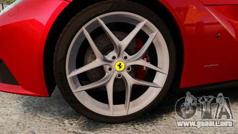 Ferrari F12 Berlinetta 2013 [EPM] Black bars para GTA 4 vista hacia atrás