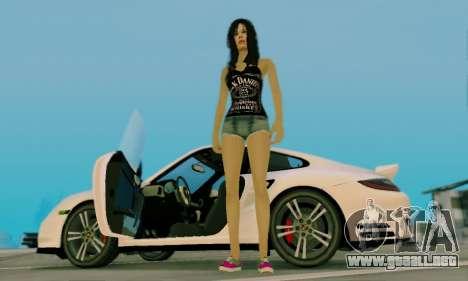Jack Daniels Girl Skin para GTA San Andreas sexta pantalla