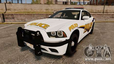 Dodge Charger 2013 Liberty University Police ELS para GTA 4