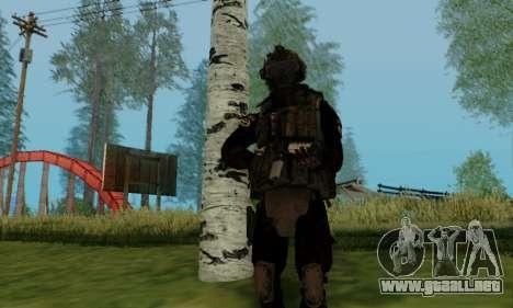 Kopassus Skin 2 para GTA San Andreas sexta pantalla