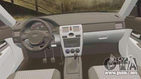 VAZ-2170 para GTA 4 vista lateral