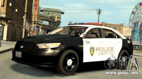 Ford Police Interceptor LCPD 2013 [ELS] para GTA 4 left