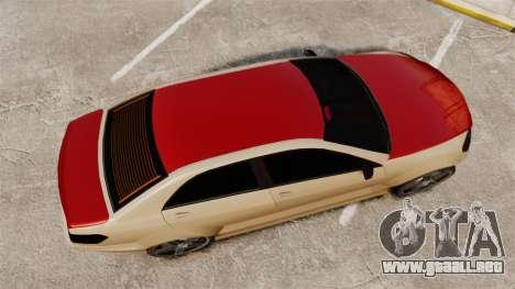 Benefactor Schafter Gen2 AMG para GTA 4 visión correcta