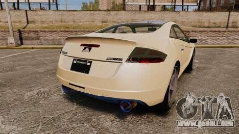 GTA V Maibatsu Penumbra para GTA 4 Vista posterior izquierda