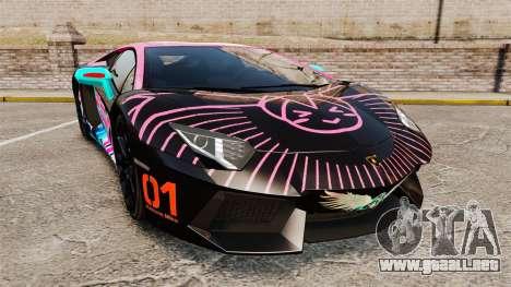 Lamborghini Aventador LP700-4 2012 [EPM] Miku para GTA 4