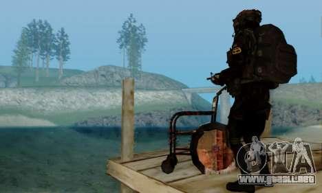 Kopassus Skin 2 para GTA San Andreas octavo de pantalla