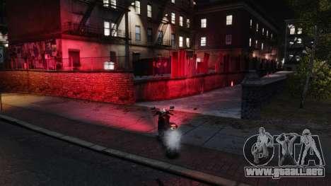 Luces rojas para GTA 4 segundos de pantalla